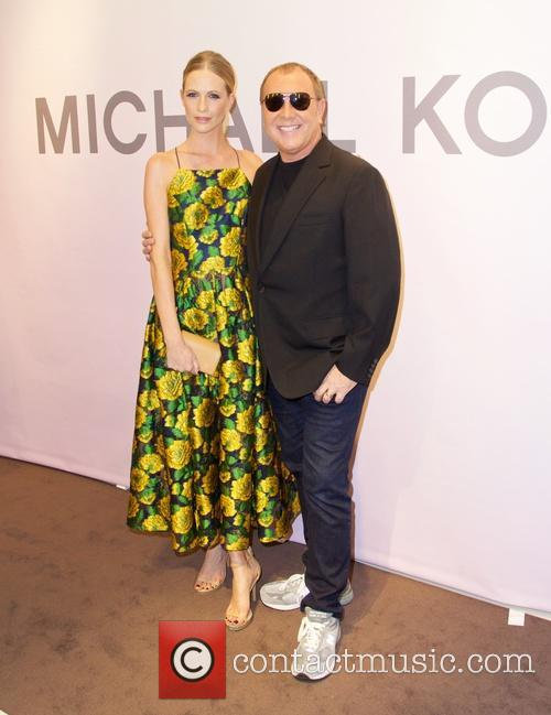 Poppy Delevingne and Michael Kors 9