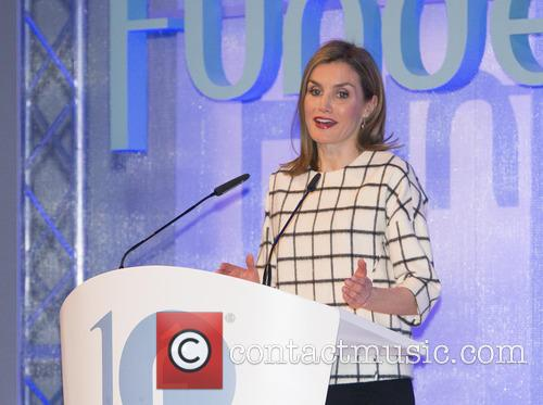 Queen Letizia of Spain attends Fundeu 10th Anniversary