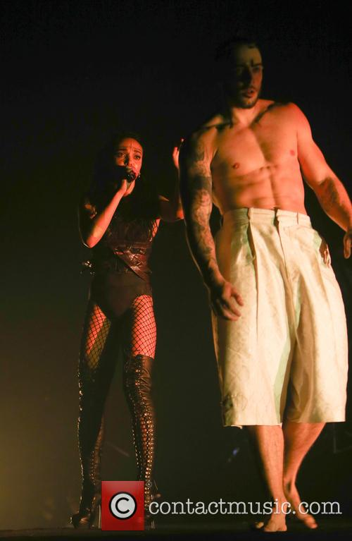 FKA Twigs performs at the Roundhouse