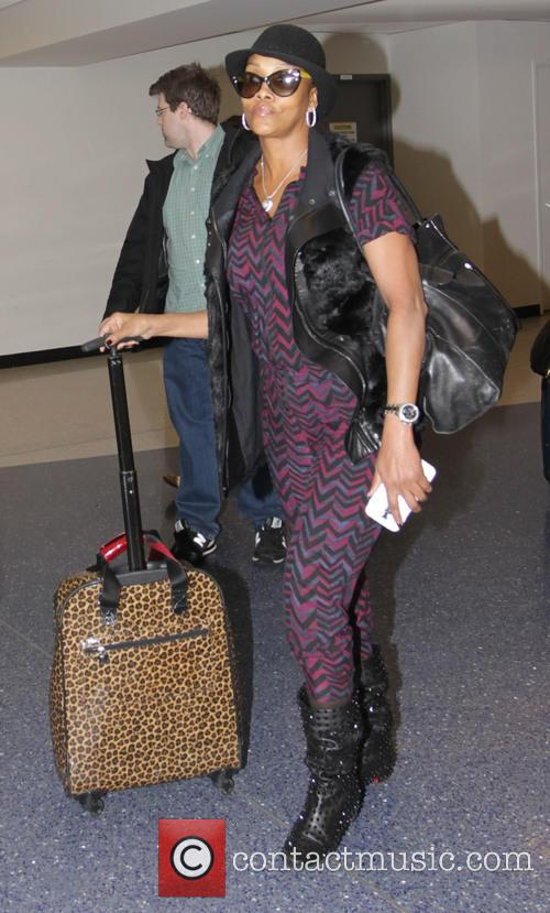 Vivica A. Fox arrives at Los Angeles International...