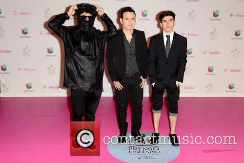 Erick Rincon, Sergio Zavala, Alberto Presenda and 3ball Mty 3