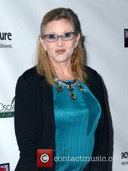 Carrie Fisher Reveals She Was Told To Lose 35 Lbs In Preparation For New Star Wars Movie