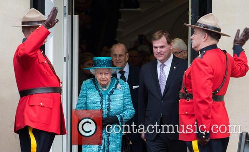 The Queen and The Duke Of Edinburgh 4