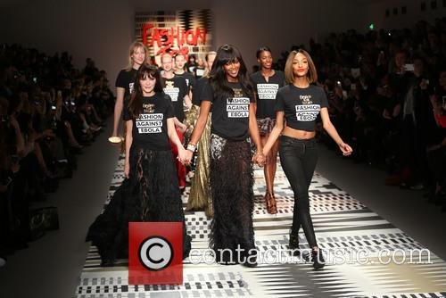 Annabelle Neilson, Naomi Campbell and Jourdan Dunn 2