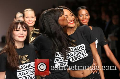 Annabelle Neilson, Naomi Campbell and Jourdan Dunn 5