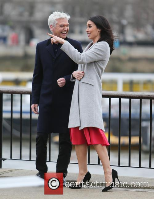 Christine Bleakley and Philip Schofield 7