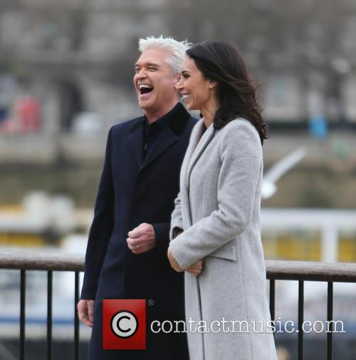 Christine Bleakley and Philip Schofield 8