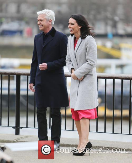 Christine Bleakley and Philip Schofield 9