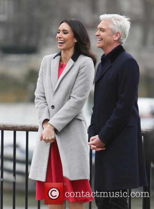 Christine Bleakley and Philip Schofield 11