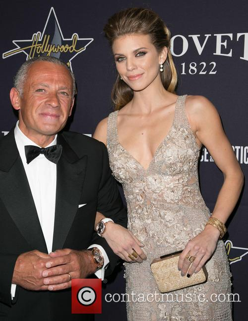 Pascal Raffy and Annalynne Mccord 8