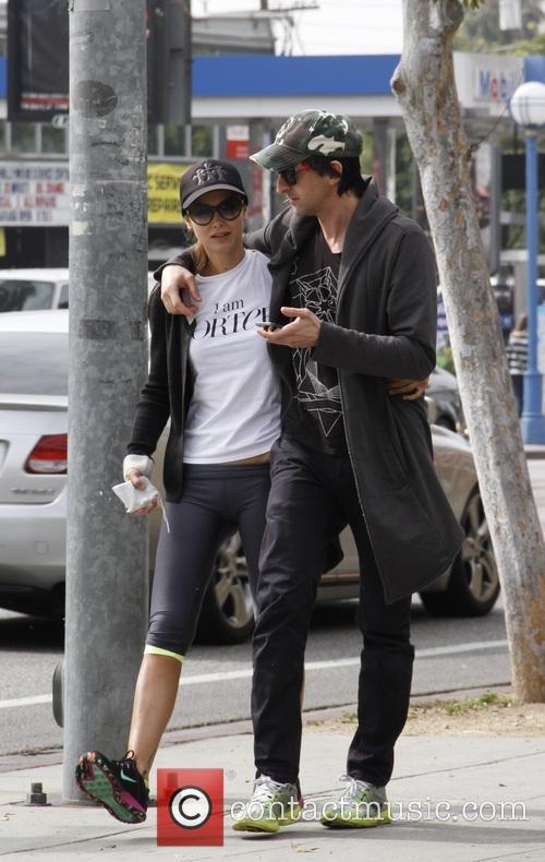 Adrien Brody and Lara Lieto 4
