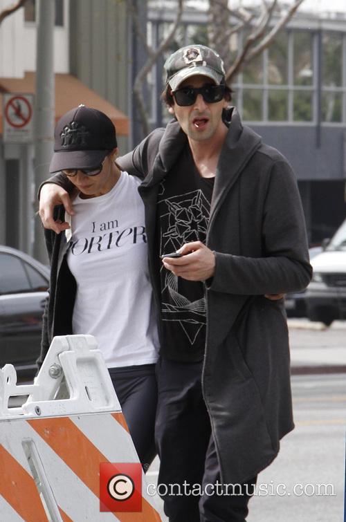 Adrien Brody and Lara Lieto 7