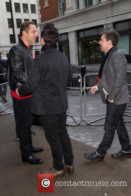 David Walliams, Anthony Mcpartlin, Ant, Declan Donnelly and Dec 2