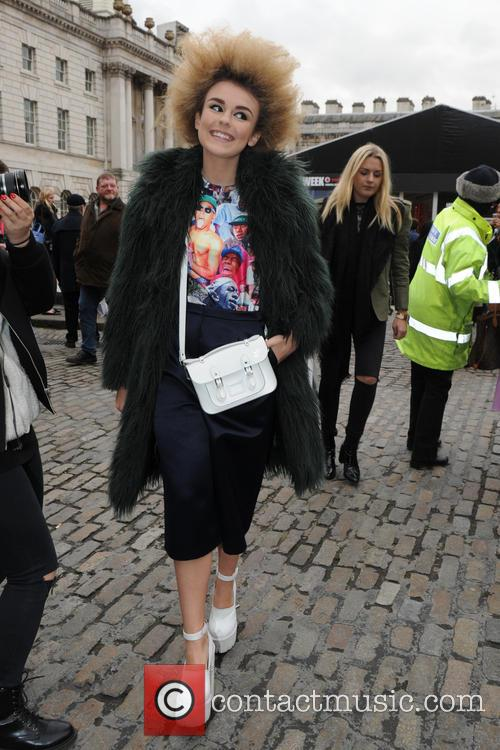 Celebrity Sightings at London Fashion Week AW15