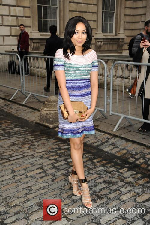 Dionne Bromfield at LFW