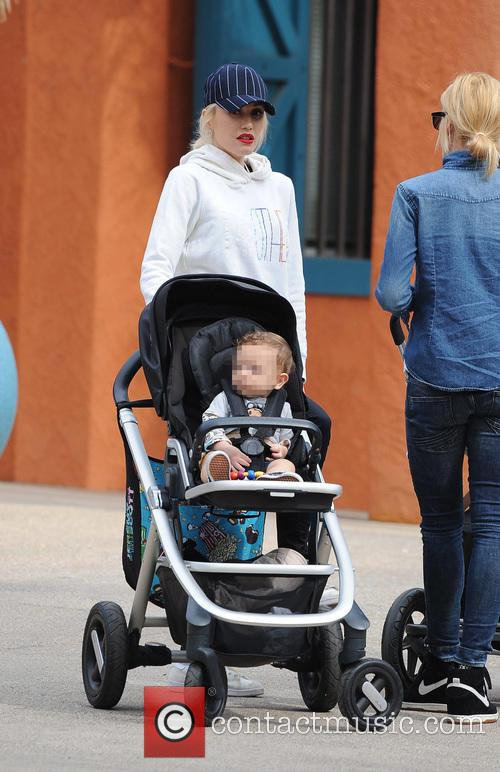 Apollo Rossdale and Gwen Stefani 4