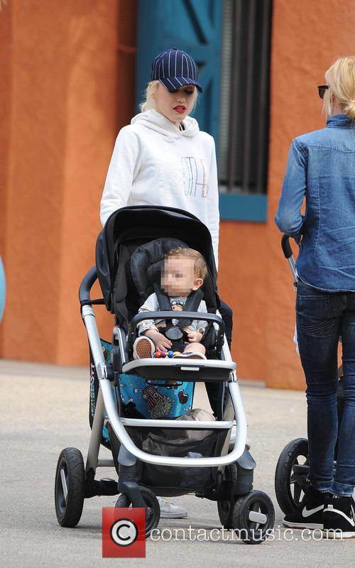 Apollo Rossdale and Gwen Stefani 5