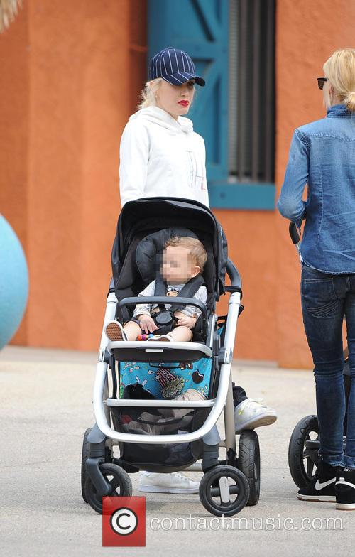 Apollo Rossdale and Gwen Stefani 6