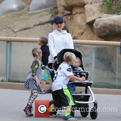 Apollo Rossdale, Zuma Rossdale and Gwen Stefani 9
