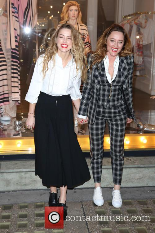 Amber Heard and Alice Temperley 2