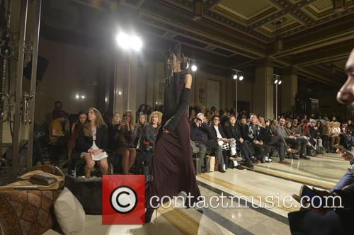 London Fashion Week A, W, Ashley Isham and Catwalk 1