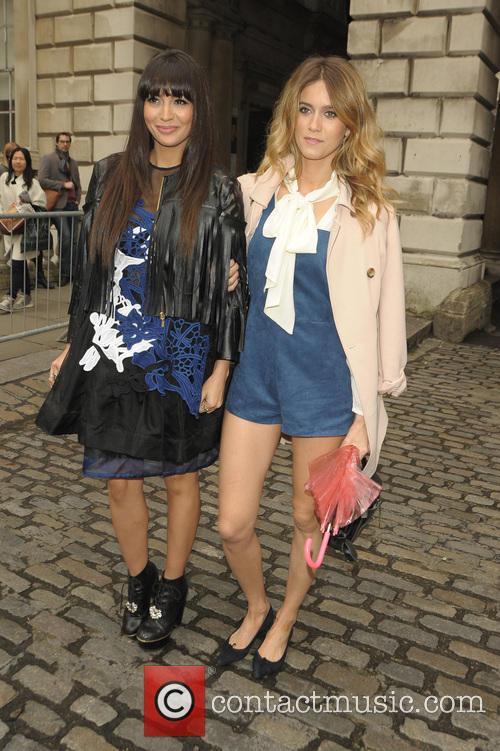 London Fashion Week A/W 2015 - Celebrity Sightings...