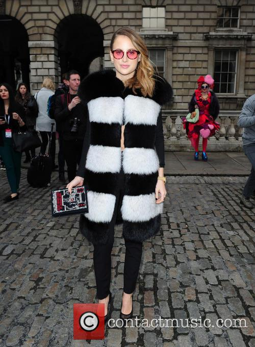 Rosie Fortenscue London Fashion Week Somerset House 5 Pictures