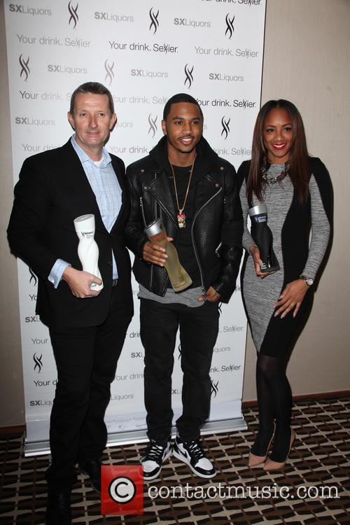 David Knight, Trey Songz and Roe Williams 2