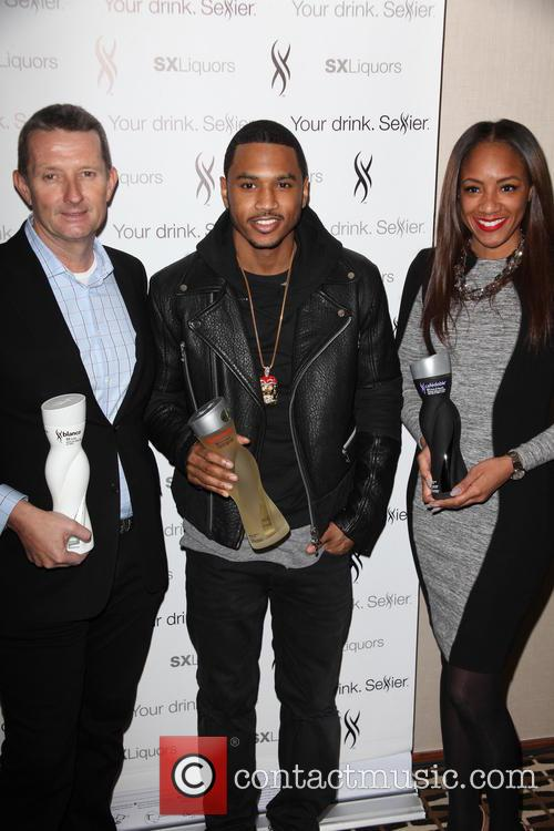 David Knight, Trey Songz and Roe Williams 3