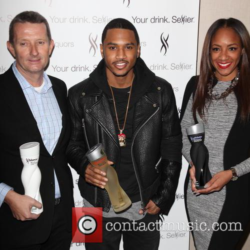 David Knight, Trey Songz and Roe Williams 4