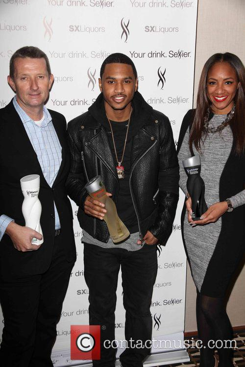 David Knight, Trey Songz and Roe Williams 1