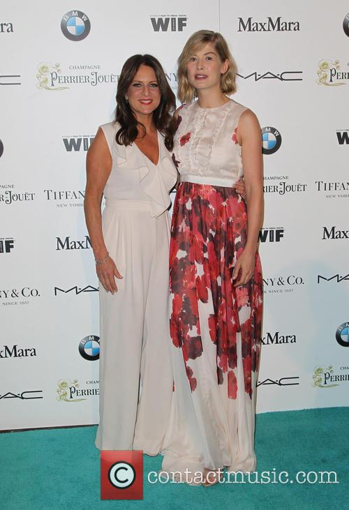 Cathy Schulman and Rosamund Pike 2