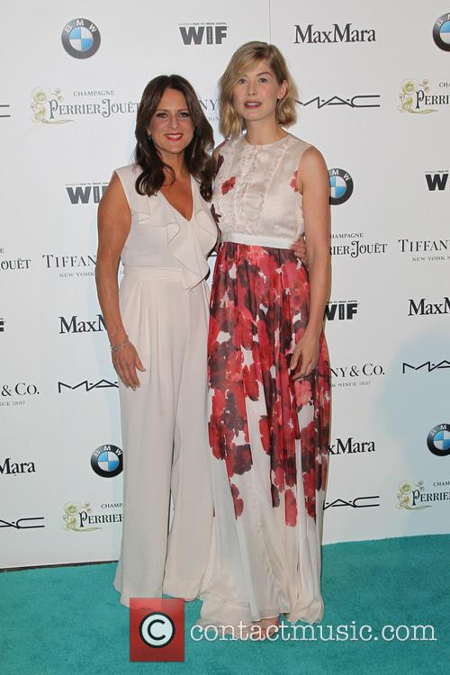 Cathy Schulman and Rosamund Pike 3