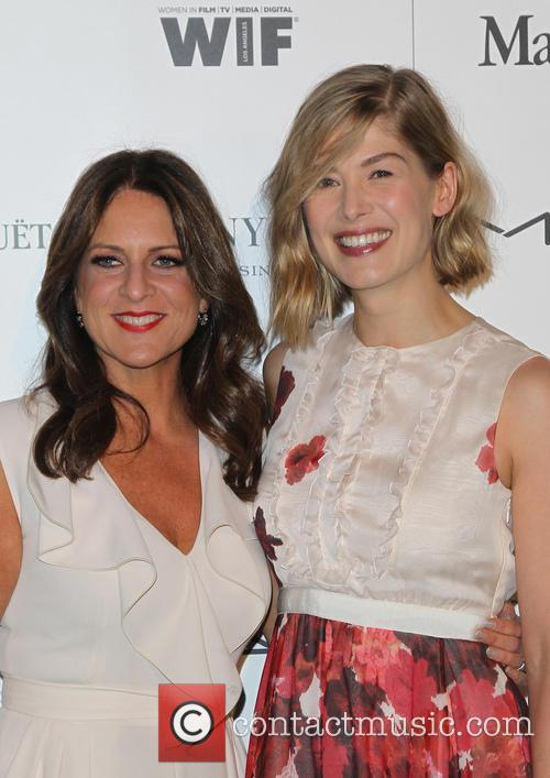 Cathy Schulman and Rosamund Pike 5