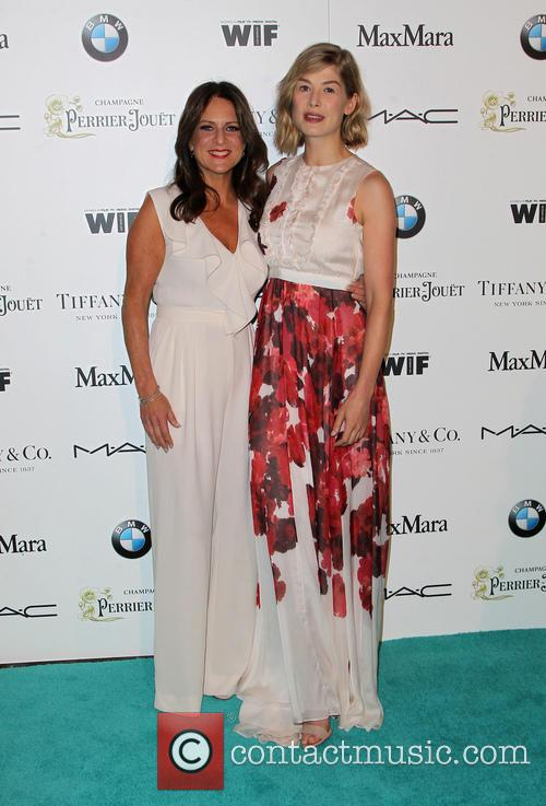 Cathy Schulman and Rosamund Pike 6