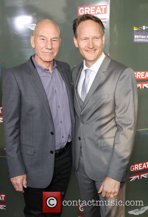 Sir Patrick Stewart and British Consul General Chris O'connor 6