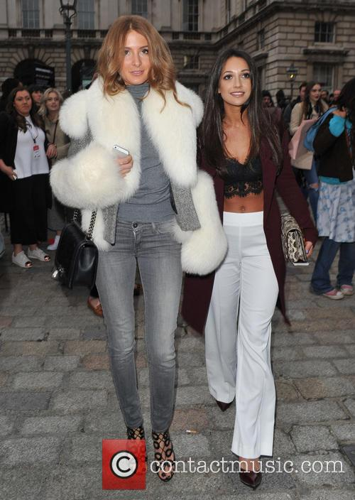 Millie Mackintosh and Zara Martin 1