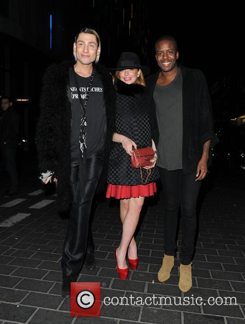 Kyle De'volle, Lindsay Lohan and Vas J Morgan 5