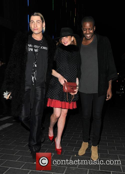 Kyle De'volle, Lindsay Lohan and Vas J Morgan 7