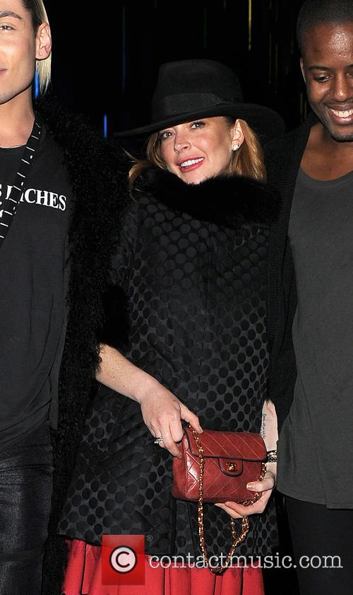 Kyle De'volle, Lindsay Lohan and Vas J Morgan 8