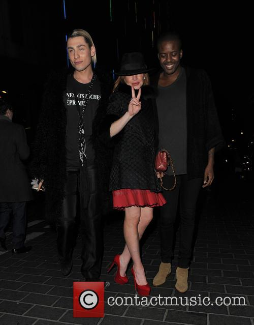 Kyle De'volle, Lindsay Lohan and Vas J Morgan 9