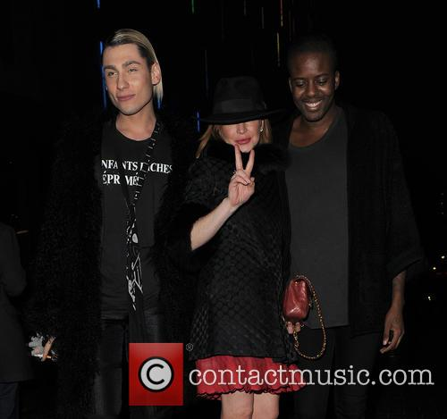 Kyle De'volle, Lindsay Lohan and Vas J Morgan 10