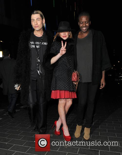 Kyle De'volle, Lindsay Lohan and Vas J Morgan 11