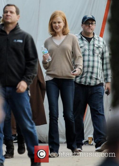 Nicole Kidman spotted on the set of 'The...