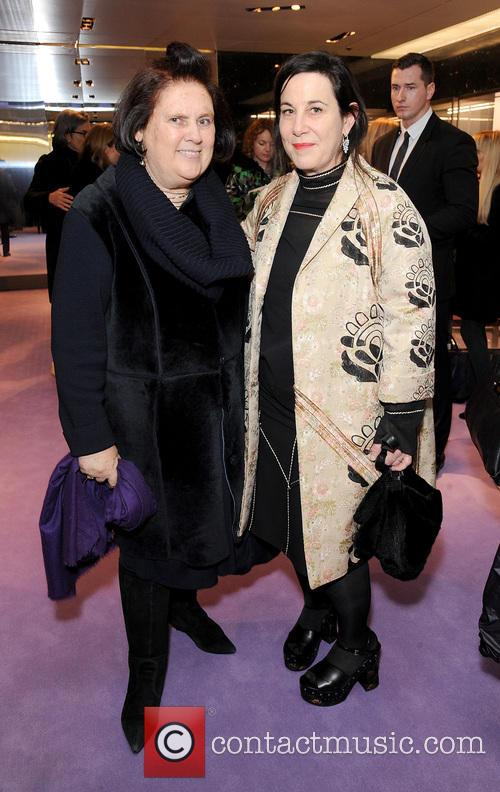 Suzy Menkes and Arianne Phillips 2