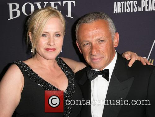 Patricia Arquette and Pascal Raffy 1
