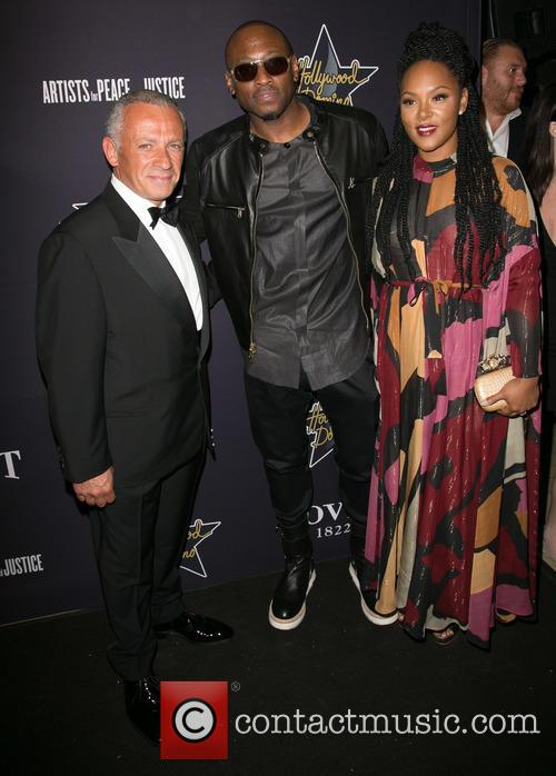 Pascal Raffy, Omar Epps and Keisha Epps