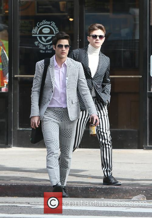Chris Colfer and Darren Criss 2