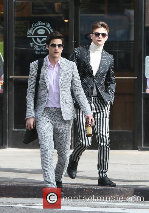 Chris Colfer and Darren Criss 3
