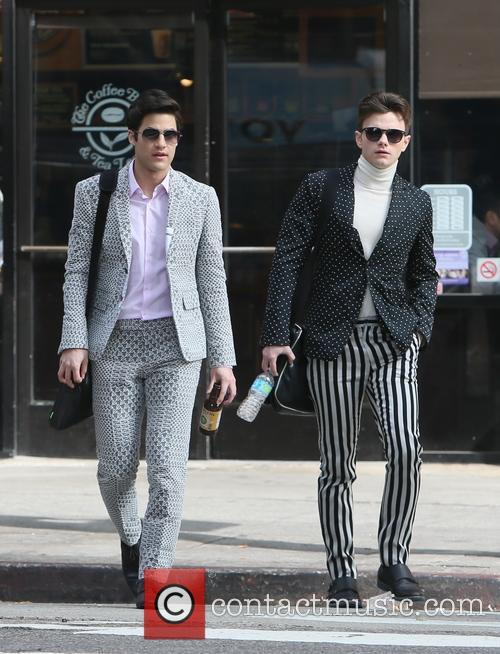 Chris Colfer and Darren Criss 8